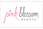 washington wedding coordinator Pink Blossom Events logo