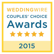 Pixel Dust Weddings Wins Wedding Wire's 2015 Couple's Choice Award