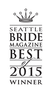 Pixel Dust Weddings is Seattle Bride 2015 Winner