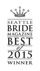 Dani Warner is Seattle Bride Magazine's Best Videographer of 2015