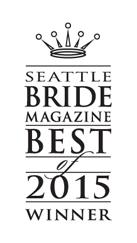 Dani Warner is Seattle Bride Magazine's Best Videographer of 2015