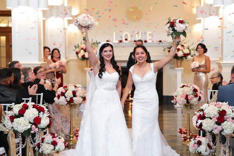wedding ceremony celebration at Monte Cristo Ballroom in Everett Washington
