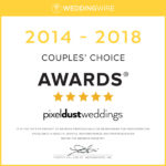 Award received for best wedding videography for 2014, 2015, 2016, 2017, 2018