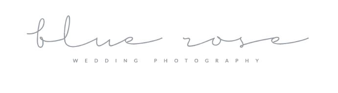 wedding photographer Blue Rose Photography logo