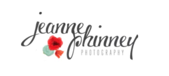 wedding photographer Jeanne Phinney Photography logo